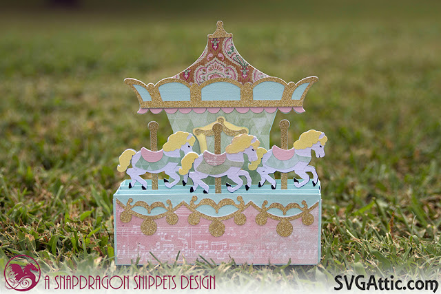 Carousel box card