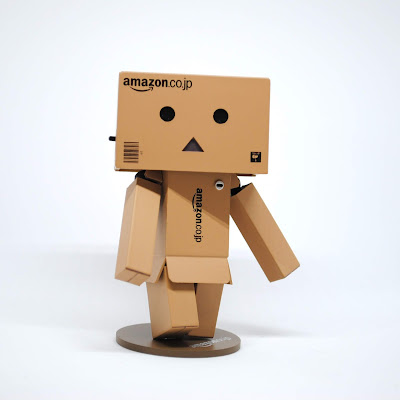 Robot Made from Cardboard Boxes
