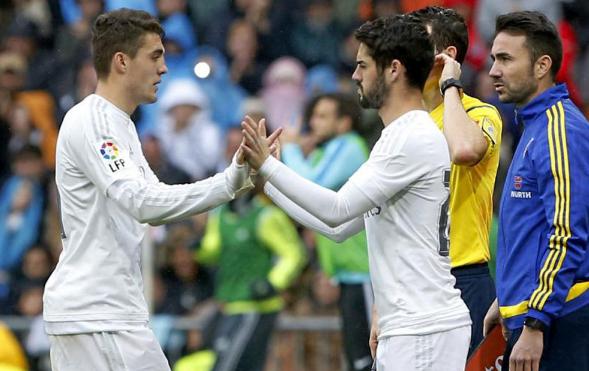 Empat Pemain Bersaing Untuk Dua Posisi Di Real Madrid