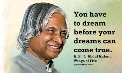 A. P. J. Abdul Kalam Quotes, Wings of Fire Messages