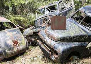 Ainars Car Cemetery Escap…