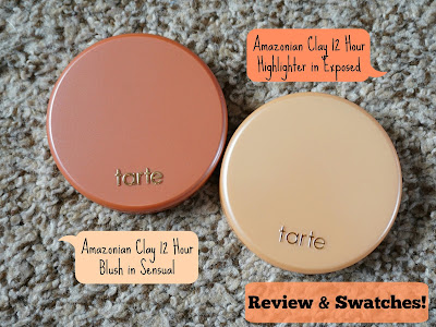 Tarte Blush in Sensual & Exposed Highlighter!