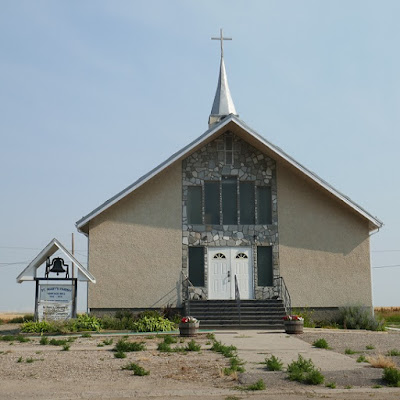 St. Mary, Catholic, cemetery, Richmound, Saskatchewan