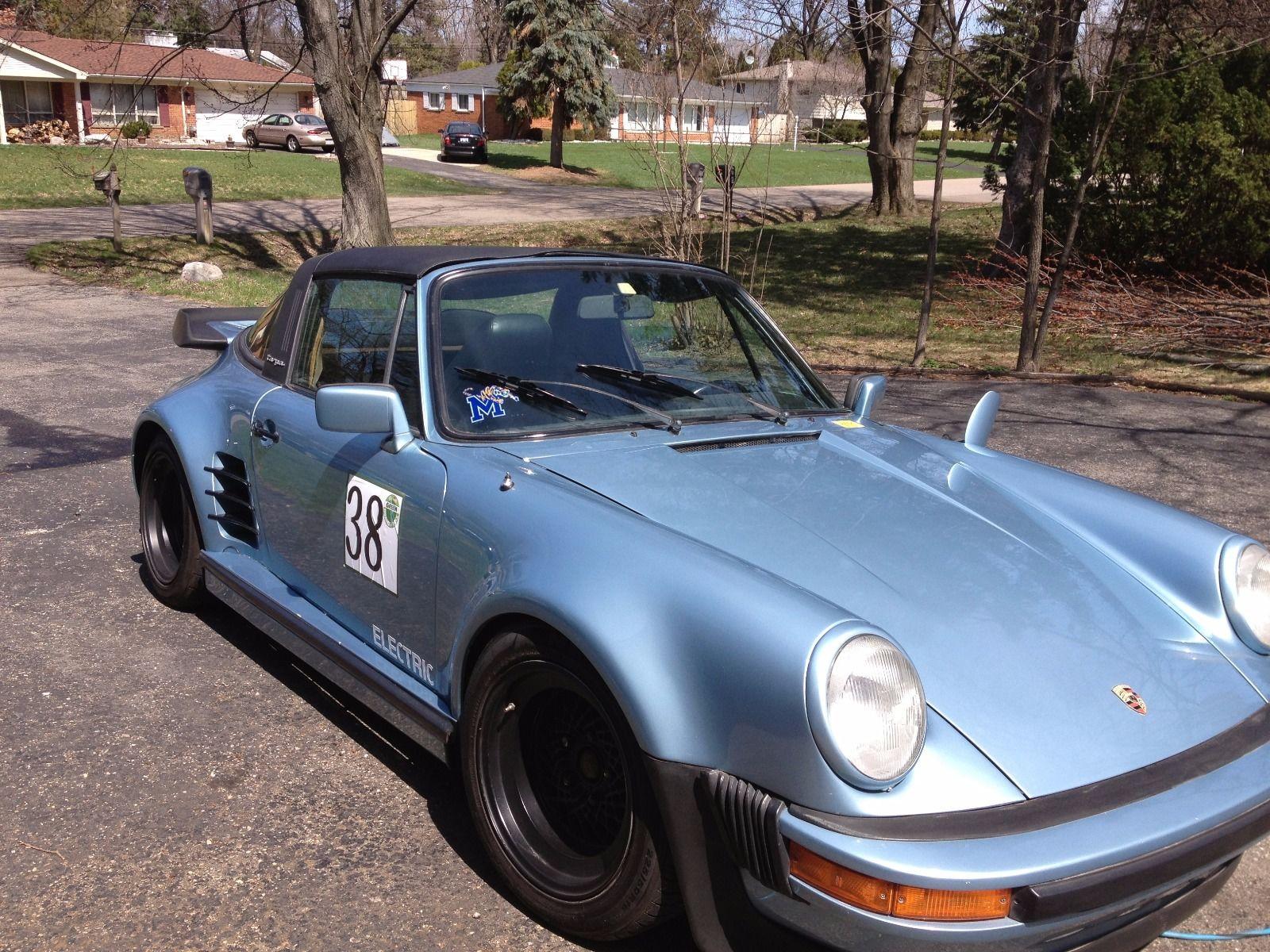 daily turismo: auction watch: 1980 porsche 911 targa electric