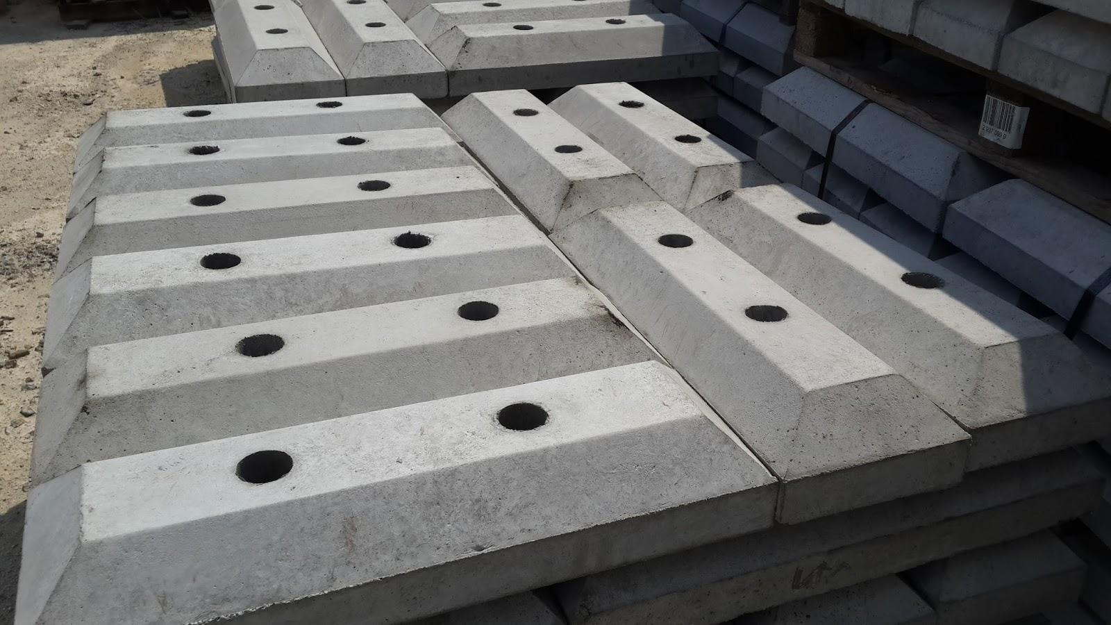 Concrete Hose Suppliers : Concrete wheel stopper c g united trading car