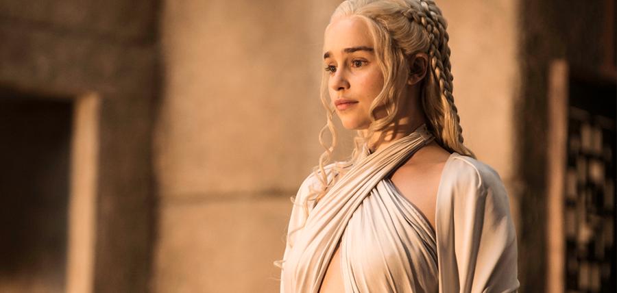Daenerys Targaryen în Sezonul 5 al serialului Urzeala Tronurilor
