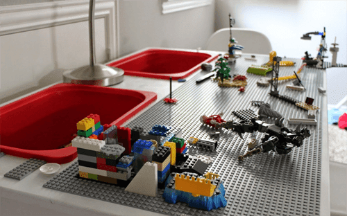 Awesome DIY Lego Table for Kids  Handy DIY