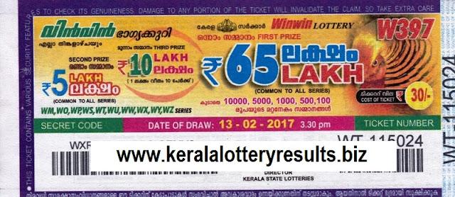 Results lottery win-win 378