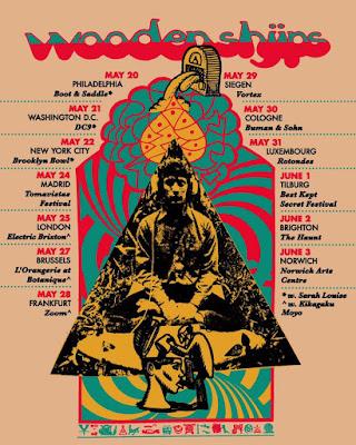 Wooden Shjips spring tour 2019