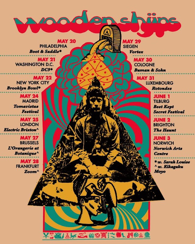 [News] Wooden Shjips spring tour 2019