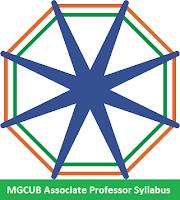 MGCUB Associate Professor Syllabus