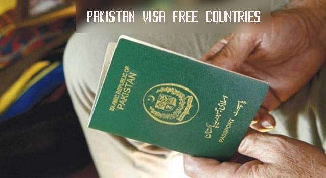 Pakistan Visa Free Countries List 2019