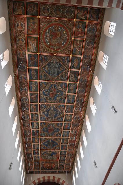 Romański kościół św. Michała w Hildesheim - sufit