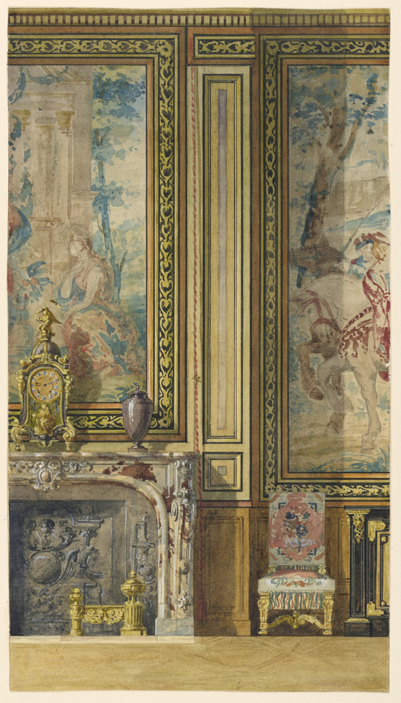 Palace Interiors At Fontainebleau