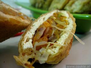 Cara membuat Tahu Berontak Isi Daging Ayam Enak dan Crispy
