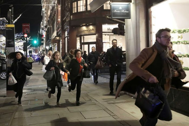 PANIC ON THE STREETS OF LONDON