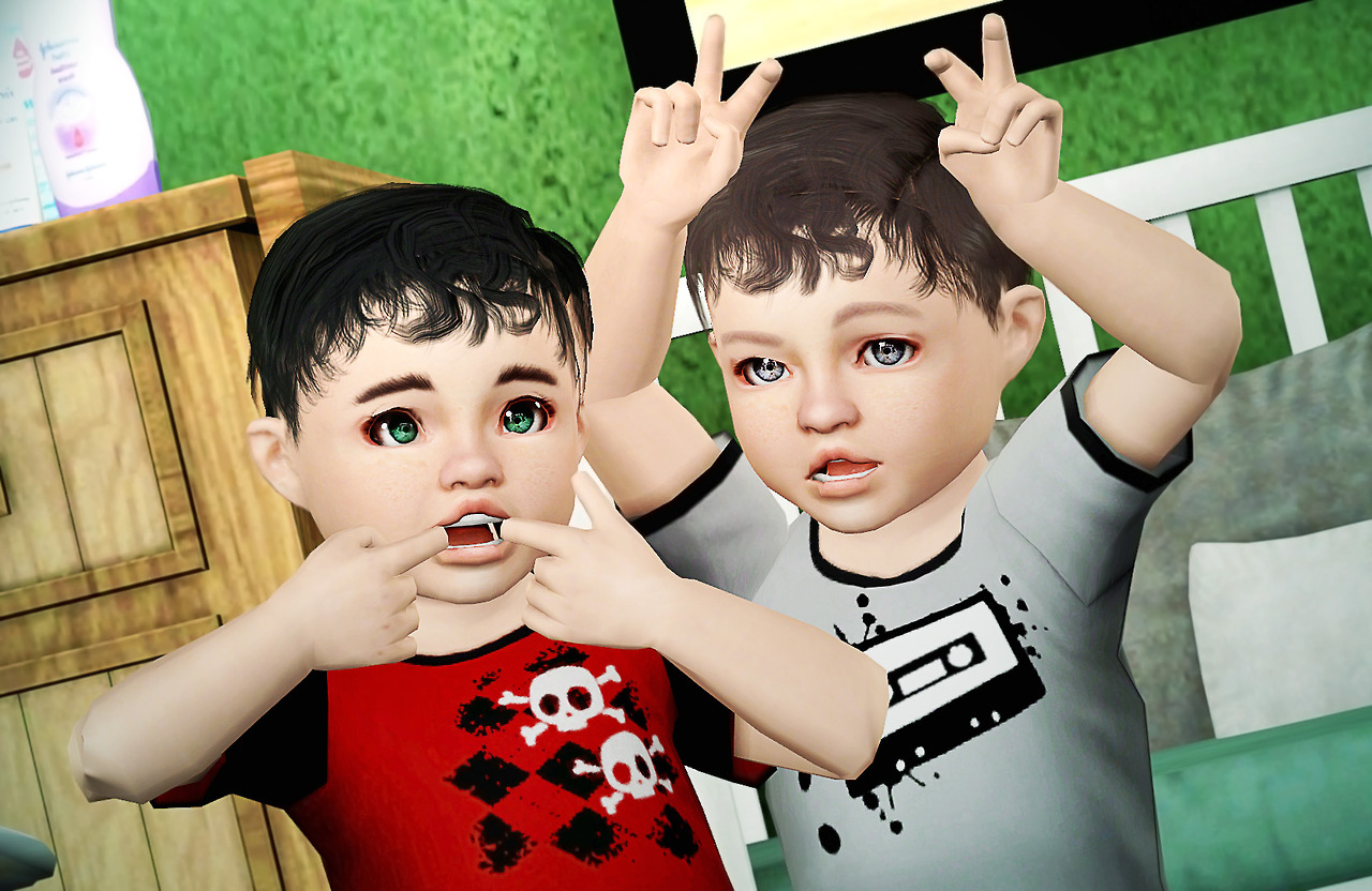 Double Trouble Poses by Simchology  MamyRocker