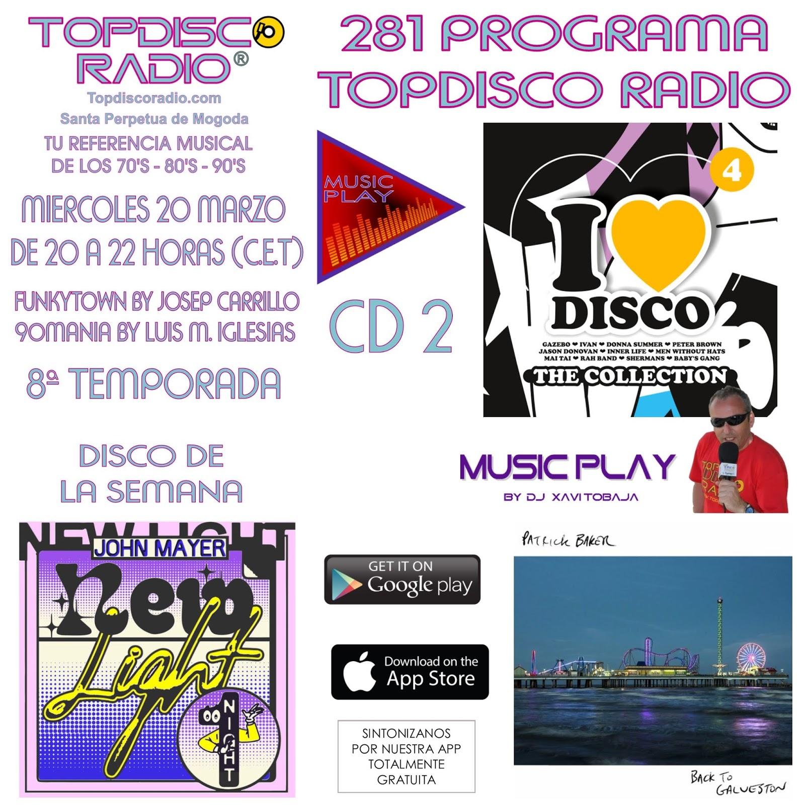 281 Programa Topdisco Radio