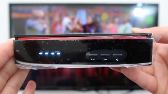 تعرف على أفضل جهاز إستقبال من شركة VISION يدعم سيرفر Smart TV