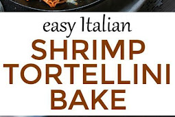 EASY ITALIAN SHRIMP TORTELLINI BAKE
