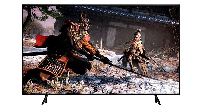 Televisor Samsung Q90R para juegos 4k hdr