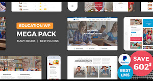 Education Pack is one of the best themes for any educational startups