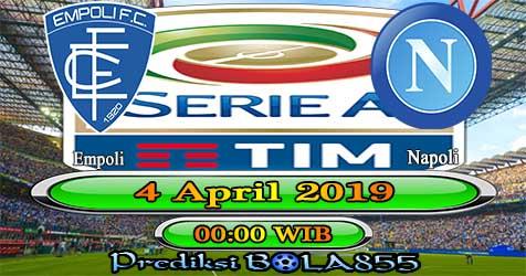 Prediksi Bola855 Empoli vs Napoli 4 April 2019