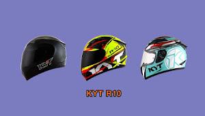 Daftar Harga Helm KYT R10 Biasa dan R10 Flat Visor + Pilihan Warnanya