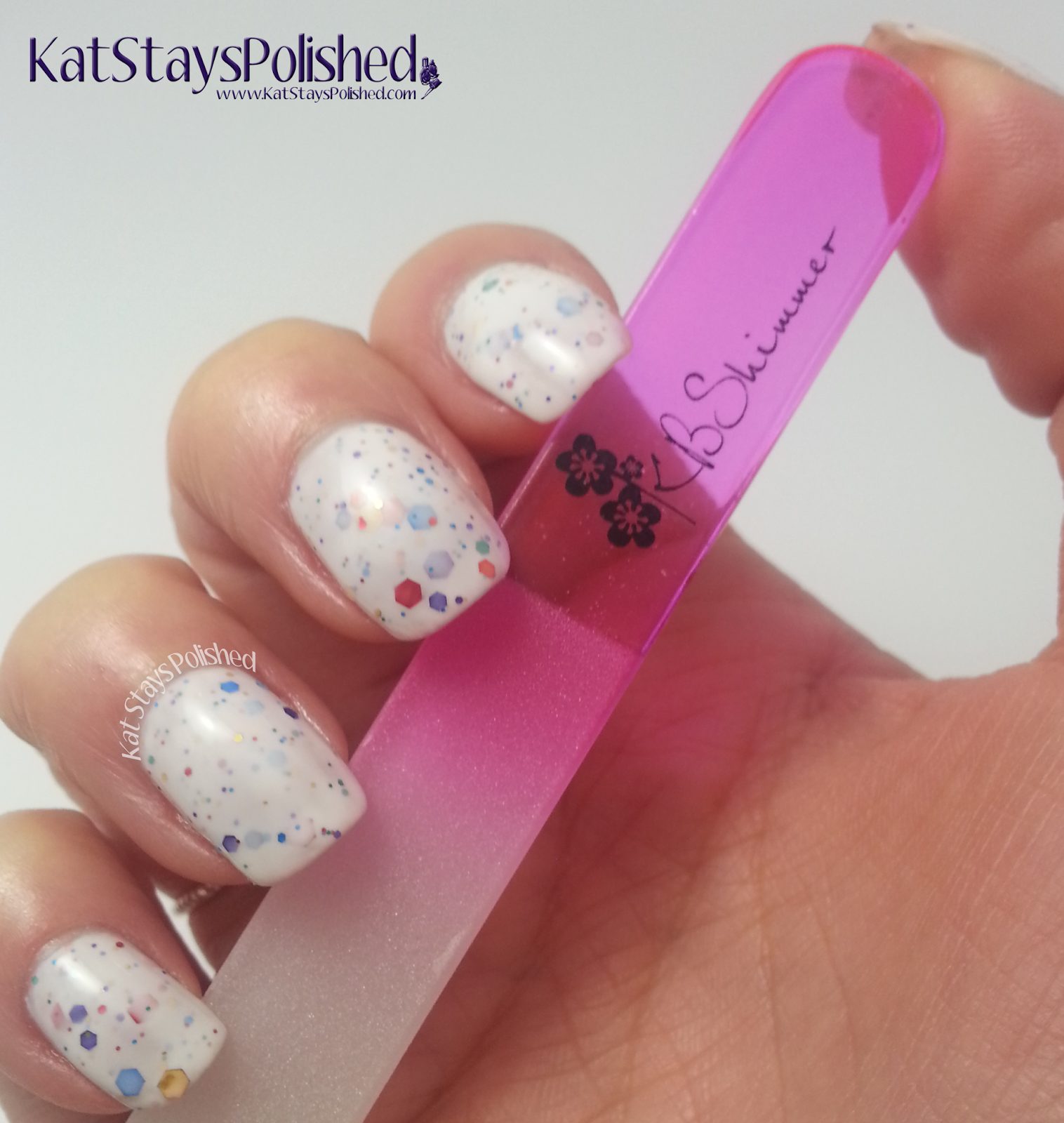 KBShimmer - Crystal File | Kat Stays Polished