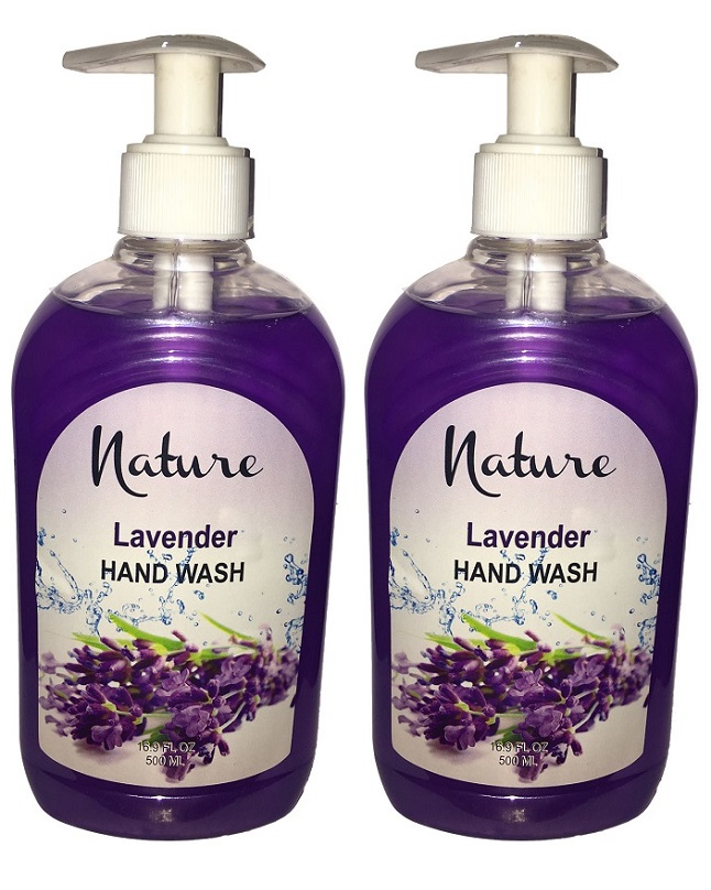 Pack Of 2 - Nature Lavender Hand Wash 500 ml