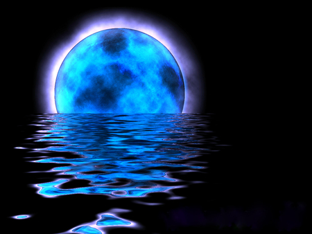 Gallery Funny Game Blue Moon Wallpaper