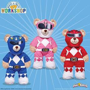 Build-A-Bear Power Rangers
