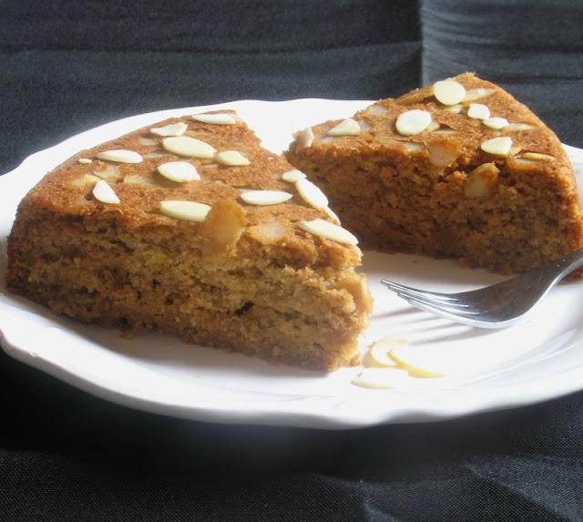 Olive Oil Almond Cake with Orange
