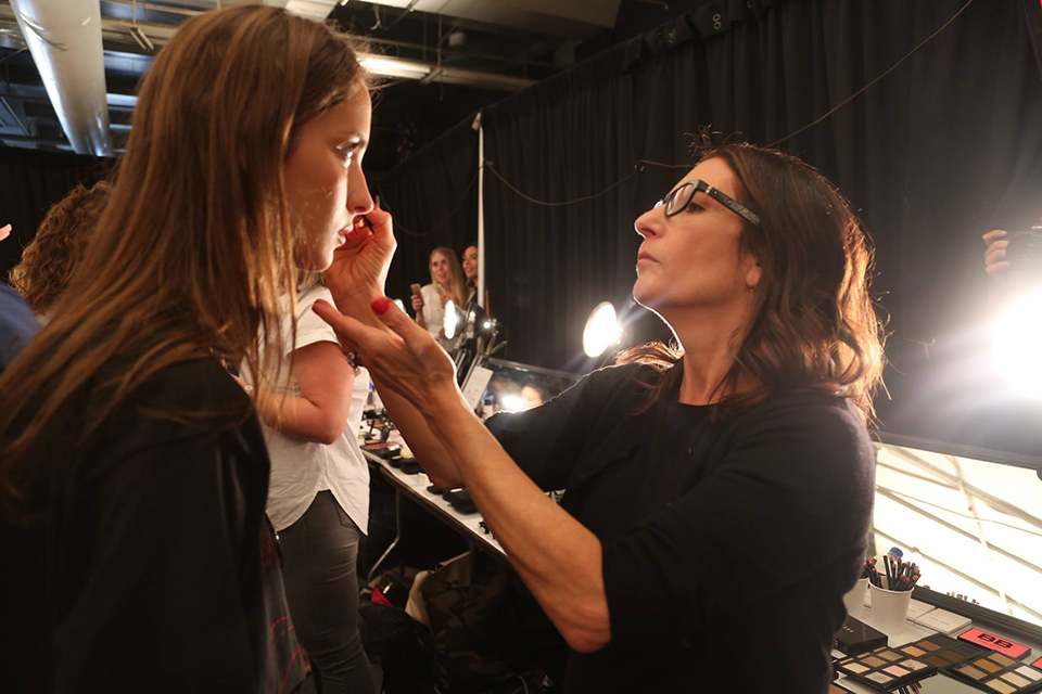 Bobbi Brown- Backstage Marchesa Spring Summer 2017