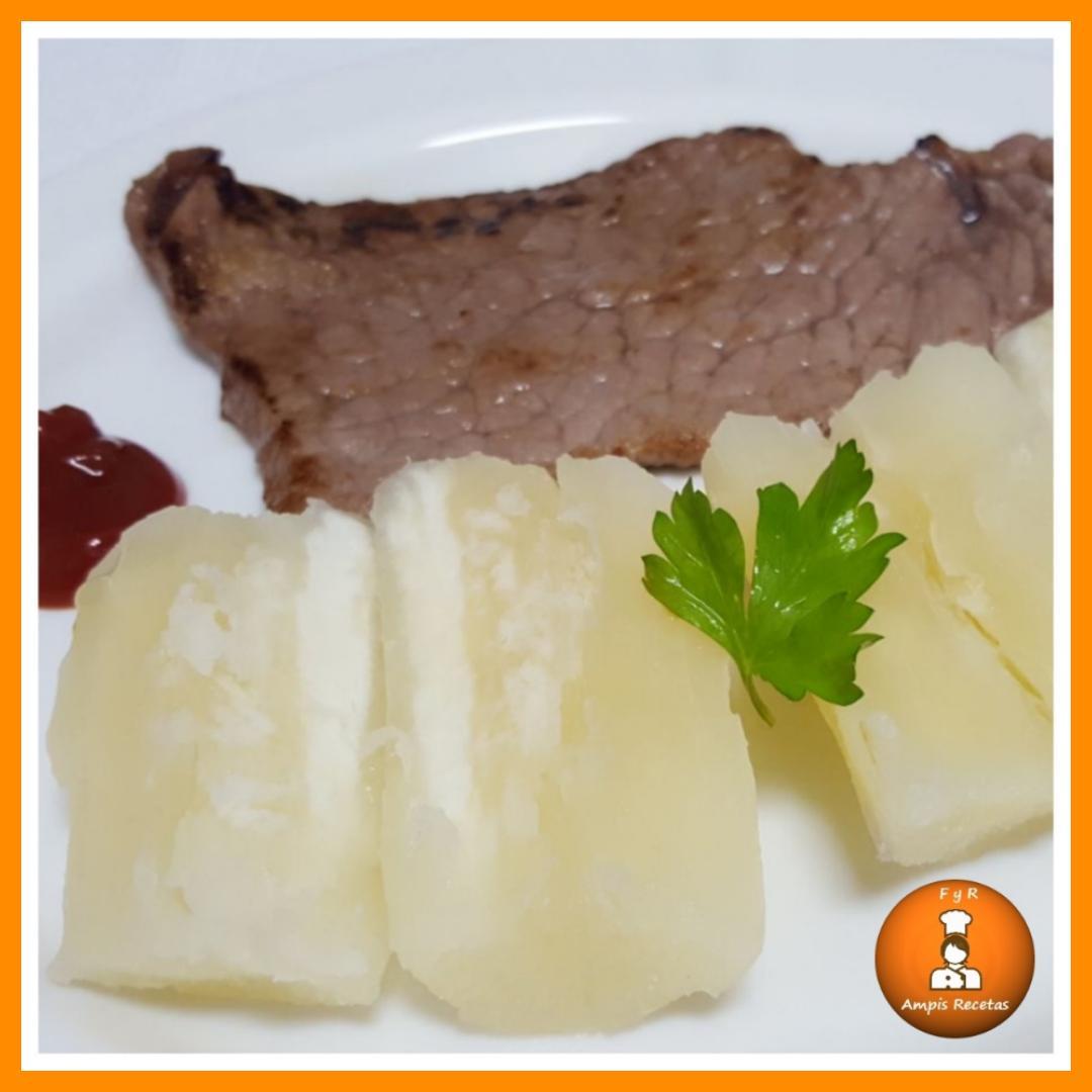 Pelar y cocinar yuca o mandioca f cil y rico ampis recetas - Como cocinar yuca ...