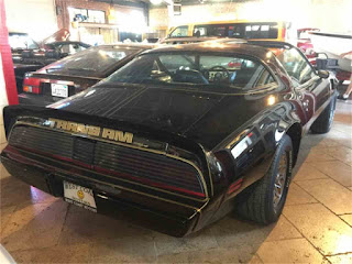 1979 Trans Am Bandit car that Burt Reynolds drove
