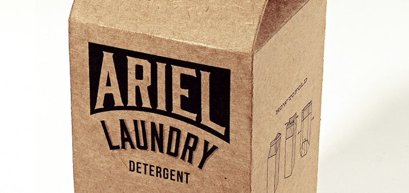 Ariel Laundry Detergent (Student Project) on Packaging of the World