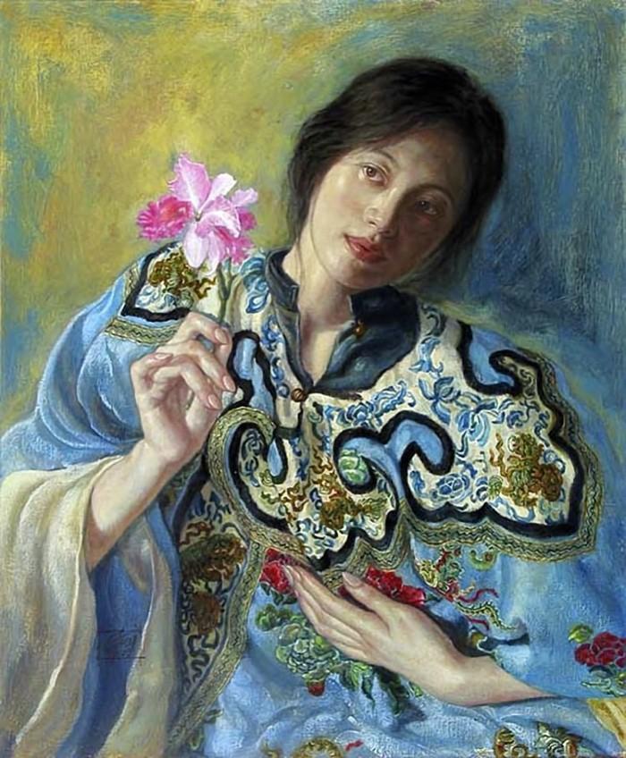 Работы в духе классического романтизма. George Tsui 17