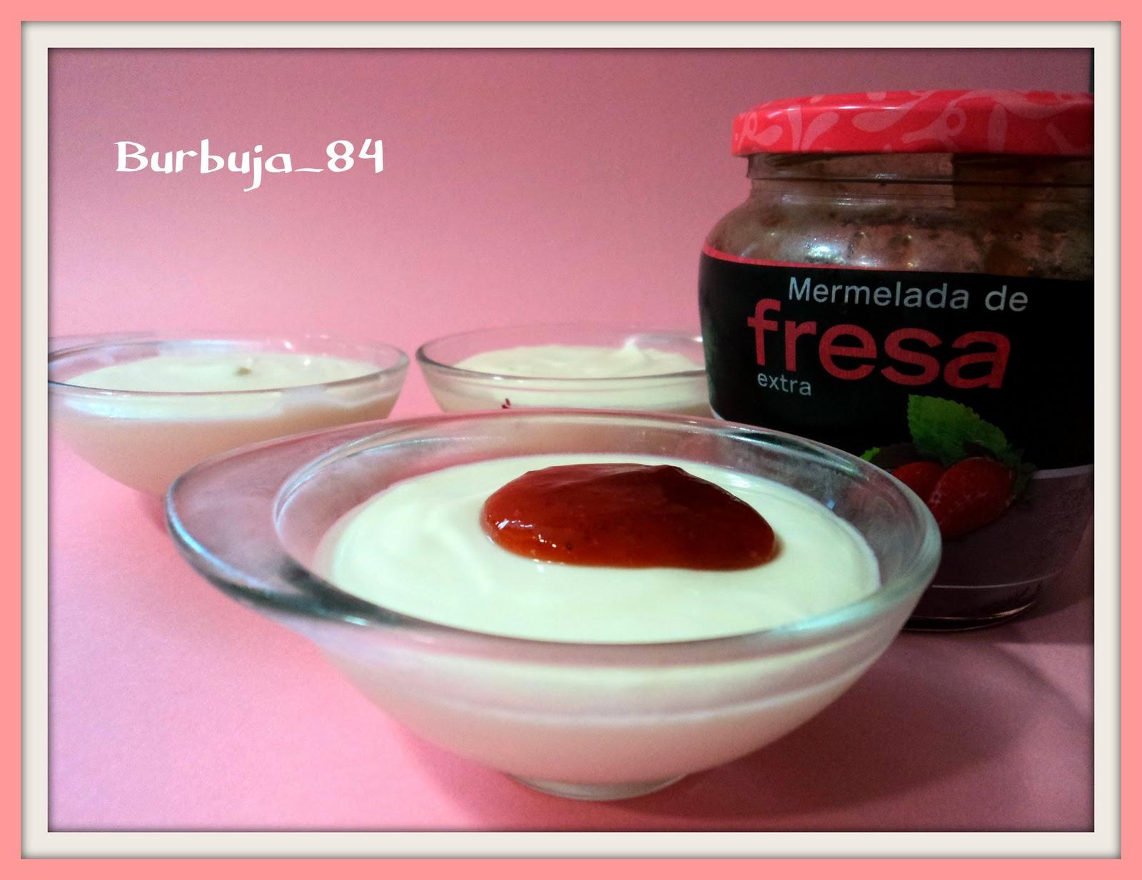Recetario burbu mousse de yogurt griego y queso th - Mouse de yogurt ...