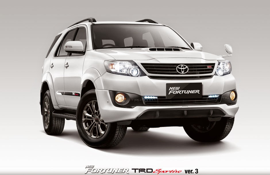 spesifikasi new fortuner 2015