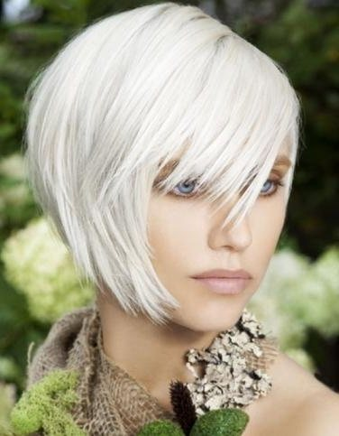 haircuts for white hair bob hair on one side on the other search results 4565
