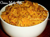 Onion Methi Rice