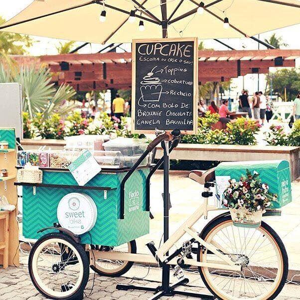 A brilhante ideia de montar um food bike