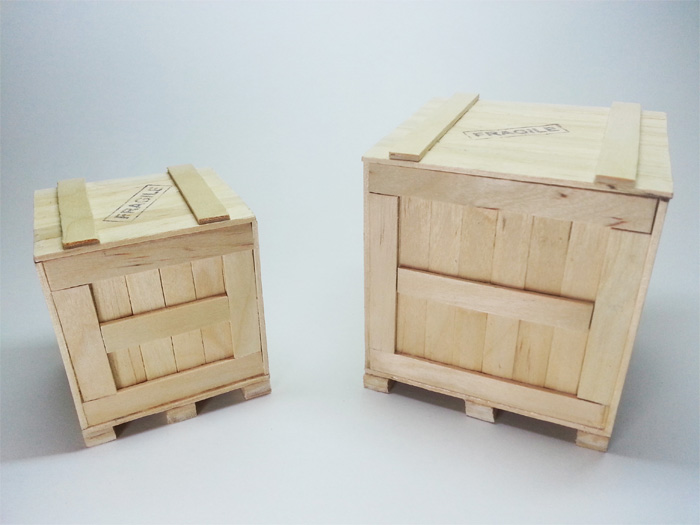 Mini crates pallet ardee 39 s creation for Craft crates