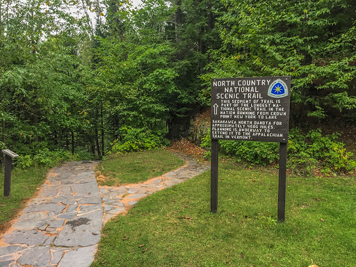 North Country and Doughboy's Trail at Copper Falls State Park