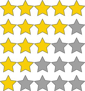 Puntuar con estrellas