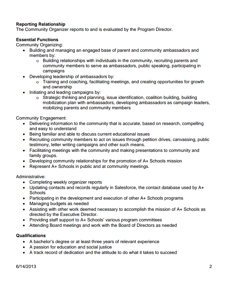 community organizer resume teaching resumes for new teachers - Resume Questionnaire Template
