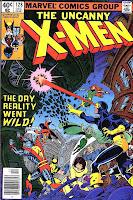 X-men v1 #128 marvel comic book cover art by John Byrne