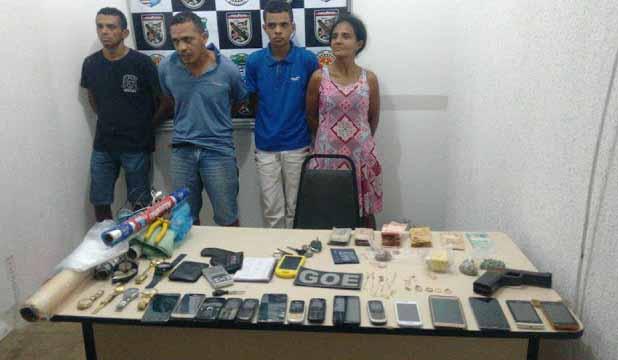 Irmãos são presos por tráfico de drogas, em Imperatriz