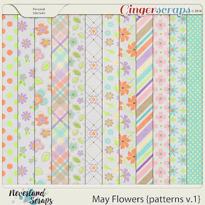 http://store.gingerscraps.net/May-Flowers-patterns-v.1.html